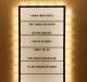 cartel luminoso vintage con letras canciones personalizables
