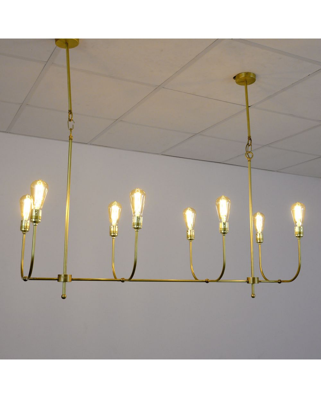 Lámpara de techo candelabro vintage