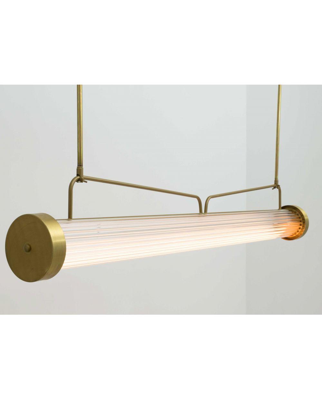 cristal Lámpara de vintage de colgante varillas OPuTZiwkX